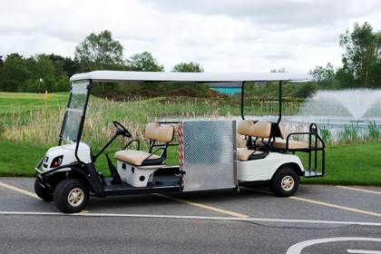 Secondhand golf buggies, used hospitality carts, pre owned utility vehicles for sale